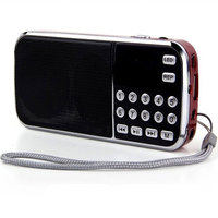 Home Stereo Speaker FM Radio Portable Speaker Mini Music Player TF Card USB Disk Mp3 Player Mini Radio