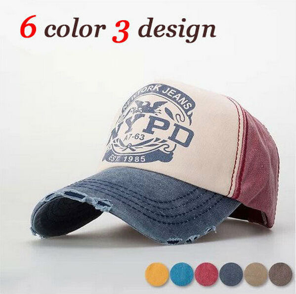 hatzolah nypd baseball hat cap uk new fashion spring summer vintage denim unisex letters sun peaked
