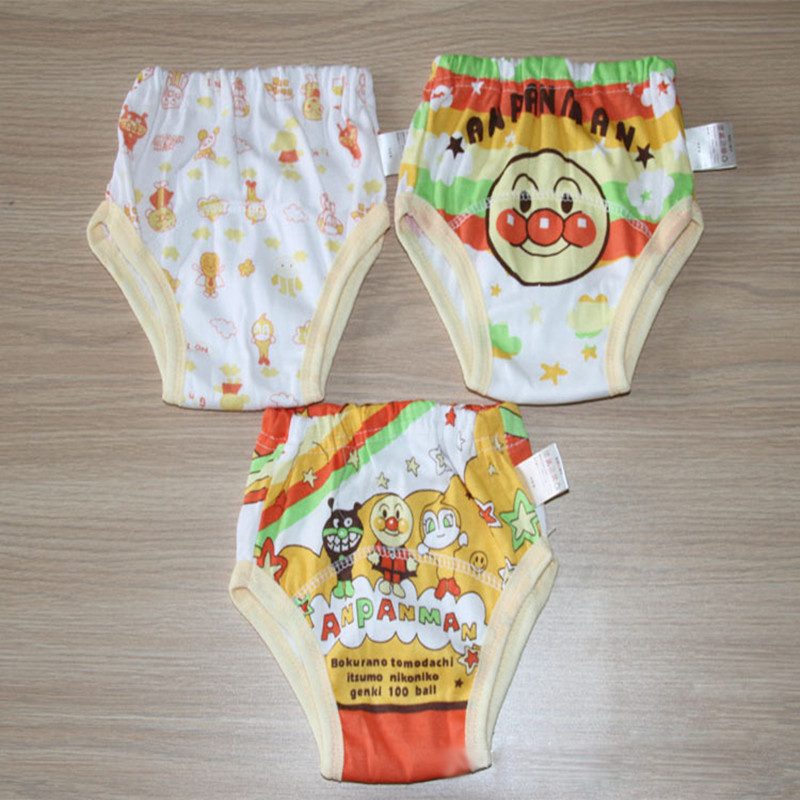 Free Shiping 3 layers Baby Shorts Baby Training Pants Infant Diapers Toddler Underwears Boy Girl Cloth Nappies SY002