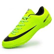 ZHENZU Profesional zapatillas hombre deportiva Hombres botas de futbol Turf Zapatos  de Fútbol Indoor futsal Superfly bc78094c994fe