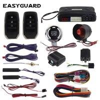 EASYGUARD пассивное открывание без ключей система универсальный пульт дистанционного стартера сигнализации dc 12 В автомобильный двигатель Пуск