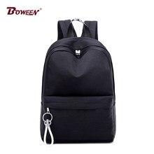 32c12ca43618 Черный рюкзак школьный Для женщин девочек-подростков школьный большой  Колледж студентов средней школы сумки Высокое