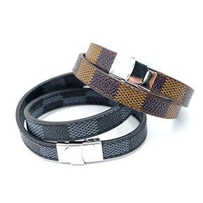 20 Bracelet  VEROMCA Leather-based Bracelet Stainless Metal Bracelets Males Jewellery Excessive High quality Charms Bracelets jewellery Magnetic Bracelet HTB1CSVthZyYBuNkSnfoq6AWgVXaE