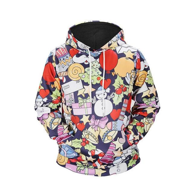 8051bd7631cbd Nueva moda gracioso sudaderas con capucha de los hombres mujeres Sudadera  con capucha de la