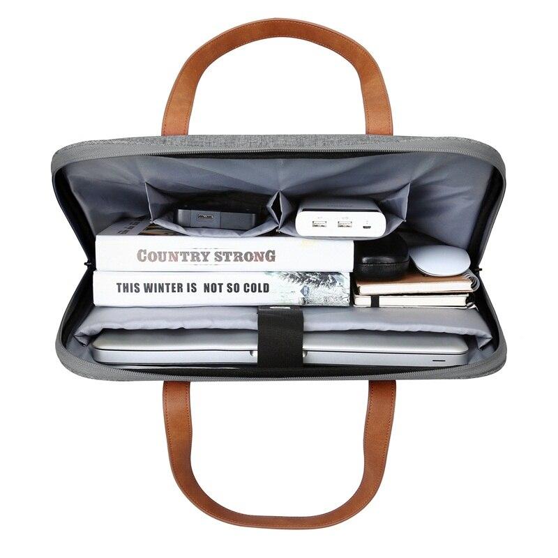 BAGSMART New Fashion Nylon Men 14 tommers laptopbag Berømt merke - Stresskofferter - Bilde 2