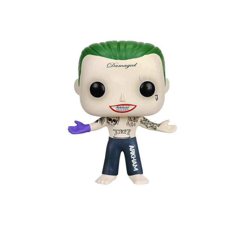 FUNKO поп DC Comics отряд самоубийц & Харли Квинн, Джокер Виниловая фигурка Коллекция Модель игрушки для детей подарок на день рождения