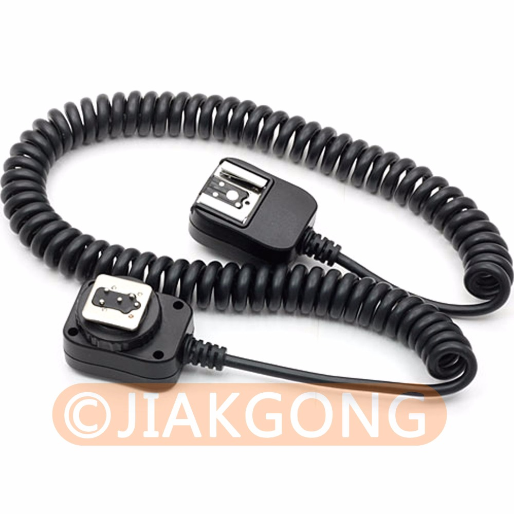 DSLRKIT 3M 3 meter i-TTL Off Camera FLASH sync Cord for Nikon D7000 D3200 SB 910 700 900