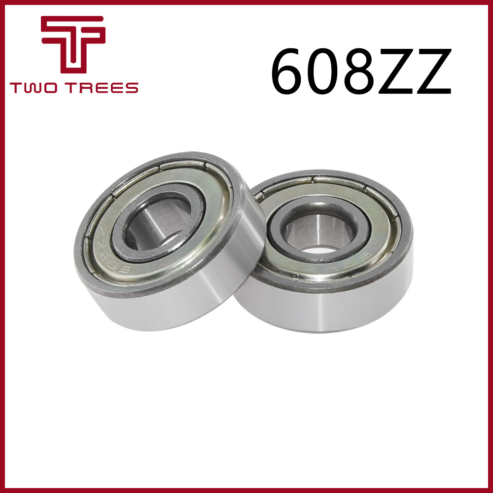 608-ZZ two side metal shield bearing 608 2Z ball bearings 608 ZZ 608-2Z Qty.50