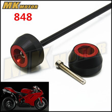 Free delivery For DUCATI 848 2007-2012  CNC Modified Motorcycle drop ball / shock absorber