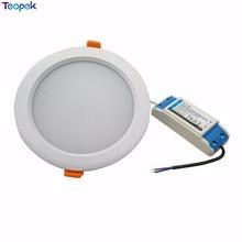 2,4 г RGB+ CCT 15 W светодиоидная лампа с регулируемой яркостью светодиодный светильник FUT069 IP54 Водонепроницаемый Ми свет СИД DownLights AC86-265V круглый Reccessed свет для Ванная комната