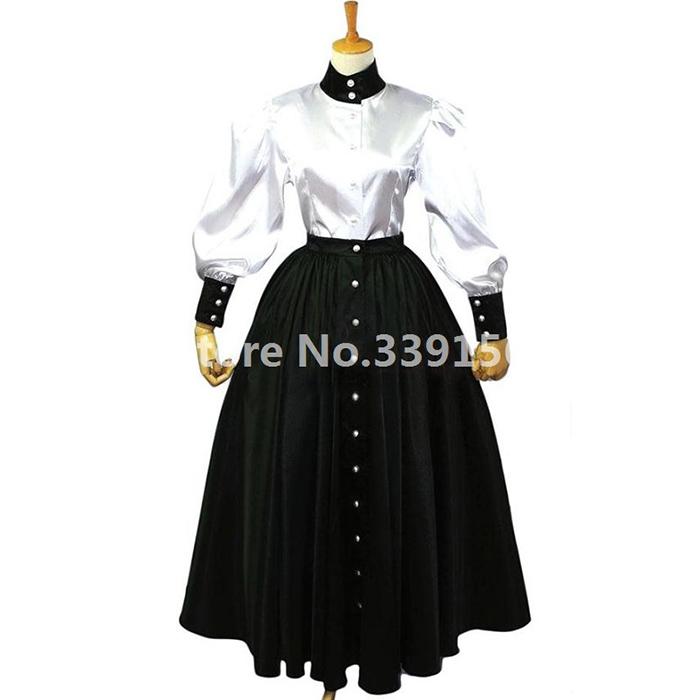 Women Elegant Vintage Victorian Lolita Dress Ladies Bandage Slim Steampunk Long Gothic Dress