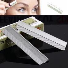 Профессиональный набор лезвий для бритья бровей 100 шт