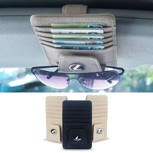 Card Holder For Cars With Lexus Logo