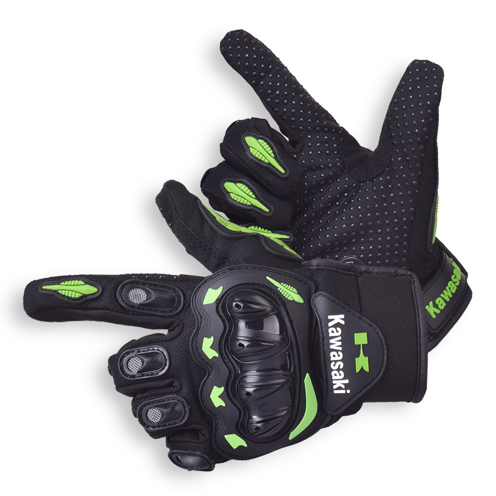 Kawasaki Motorcycle Gloves Motocross Guantes Moto Motocicleta Luvas Cycling Mountain Bike KTM gloves Gants Motorbike