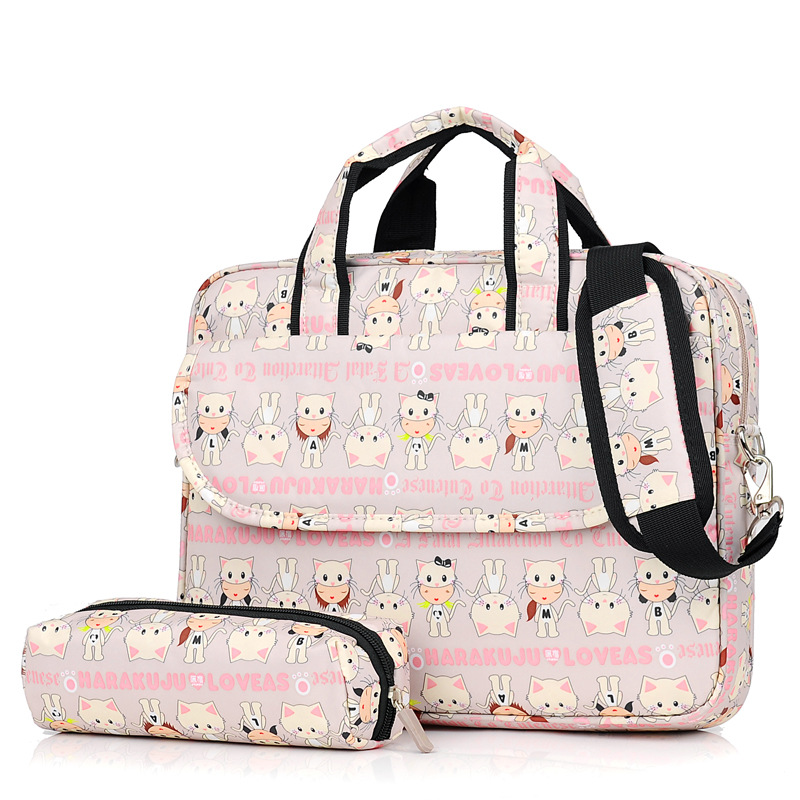 Fashion Laptop Shoulder Bag 13 14 15inch Notebook Sleeve Carry Case for MacBook Pro Air ASUS Acer Lenovo IPhone ipad computer