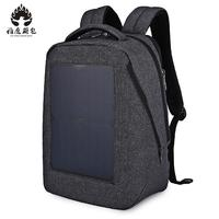 Waterproof Large Capacity 17 Inch Laptop Bag Man Design Backpack Bag Gray Backpack Women School Bags