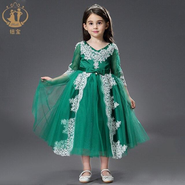 871730ca1 Princess Flower Girl Wedding Dresses Backless Child Dress Piano Costume  Birthday Catwalk Kids Dresses for Girls