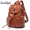 Fashion women spilt leather backpacks high quality school bag backpack famous brand women rucksack women bags  B51014A