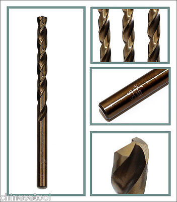 5pcs cobalt drill bit 3.3mm Co steel alloys Straight Shank Twist Drill чехол seintex 85804 для chevrolet cobalt