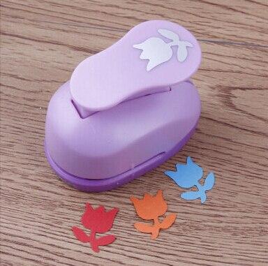 2-2.5cm Tulip shape shape EVA foam punch paper punch for greeting card handmade ,Scrapbook diy toy puncher free shipping