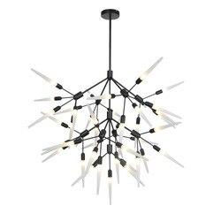 AC220V nowoczesne G4 żyrandol LED akrylowe światła lampy dla jadalnia pokój dzienny lampadario moderno Lustre oświetlenie żyrandol