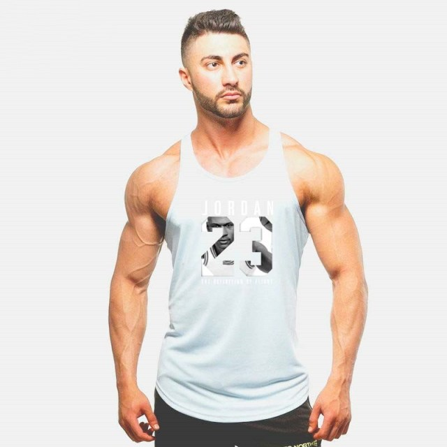 2017 Bodybuilding Fitness Stringer Men Tank Top Golds Gorilla Wear Vest Undershirt Tank Tops 467669