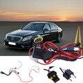 1 pc Universal Car xenon HID Kit H4 9003 Extensão Do Chicote de fios do Relé fiação Montagem Fio Tomada Auto Foglight Driving