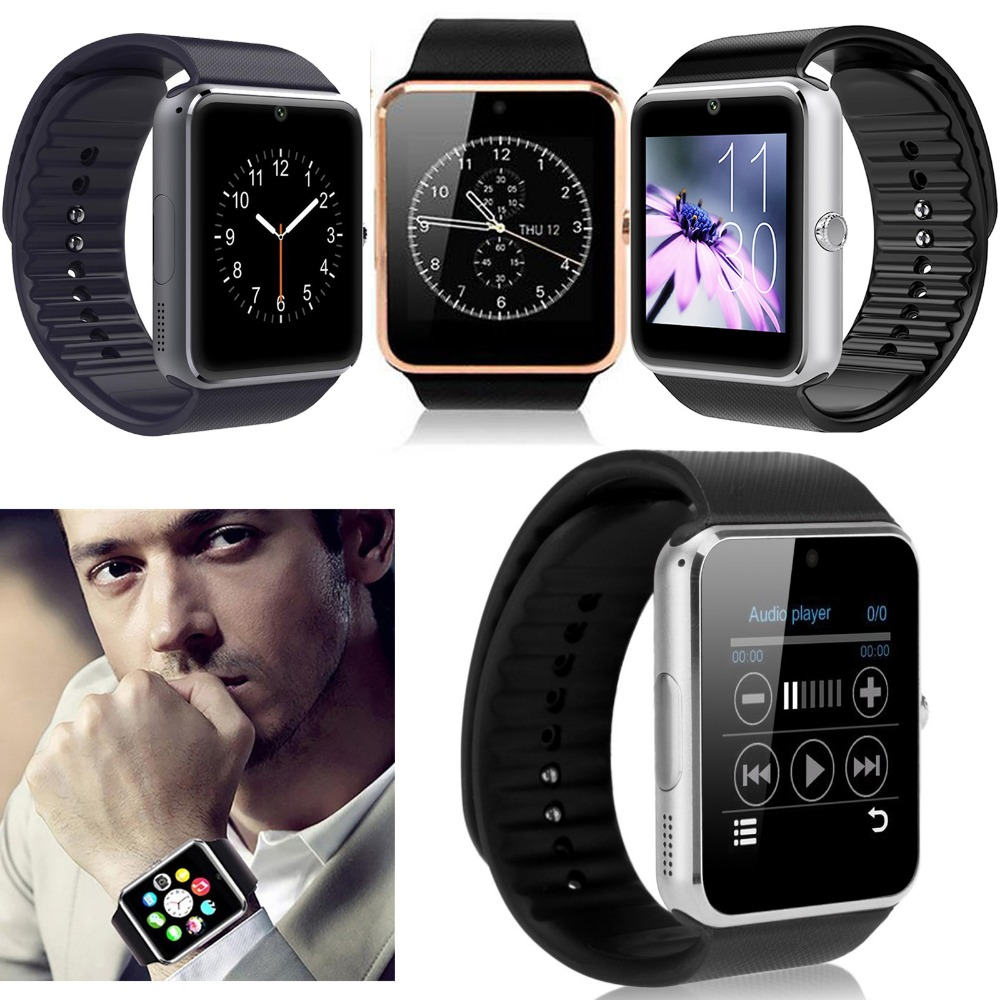 NFC Bluetooth Wrist Smart Watch Phone Screen Touch With Camera For Android Samsung Motorola Huawei LG HTC Alcatel ZTE IOS iPhone