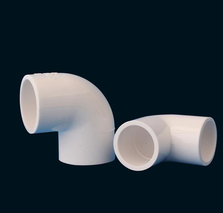 20 25 32 40 50 63 75 90 110 160mm Pvc 90 Degree Right Angle Elbow Two Way Fitting Tube Joint Pipe Water Pipe Connector