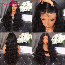 8A Grade Middle Part Brazilian Loose Wavy Lace Front Wig 150 Density Full Lace Human Hair Wigs Glueless with Baby Hair Around