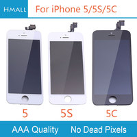 Grade AAA For IPhone 5 5S 5C LCD Display With Touch Screen Digitizer Assembly Replacement White