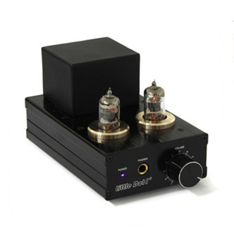 Little Dot LD1+6J1 Pre-Tube Back Stone Mixed Headphone Amplifier Professional Vacuum Power AMP