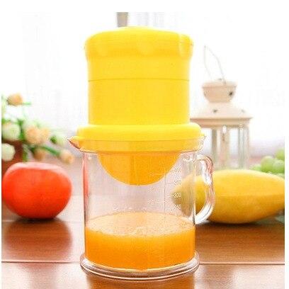 400 ml de plástico mano prensa manual exprimidor de jugo de sandía orange para h