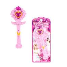 Светящаяся музыкальная волшебная палочка игрушки подарки для детей девочки развлечение