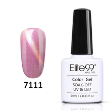 Elite99 Shell Effect Cat's Eye Gel Nail Polish 10ml Pearl Color Gel Enamel Nail Varnish Need Magnet LED UV Lamp Semi Permanent