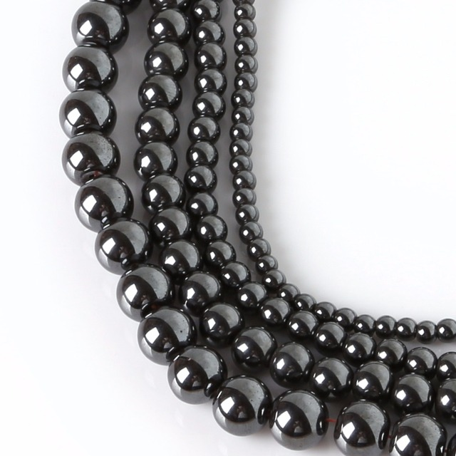 hematite pcs x about magnetic thumb non gemstones strand beads
