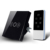 Venta caliente de LA UE LED Dimmer Interruptor Táctil Inalámbrica RF433 Control de Interruptor de Pared Panel De Cristal con indicador LED AC110-240V de Casa Inteligente
