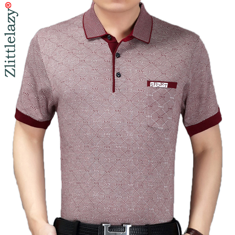 2019 summer short sleeve knitting polo shirt men clothes argyle fashions polos tee shirts pol cool mens clothing poloshirt 800-in Polo from Men's Clothing on AliExpress - 11.11_Double 11_Singles' Day 1