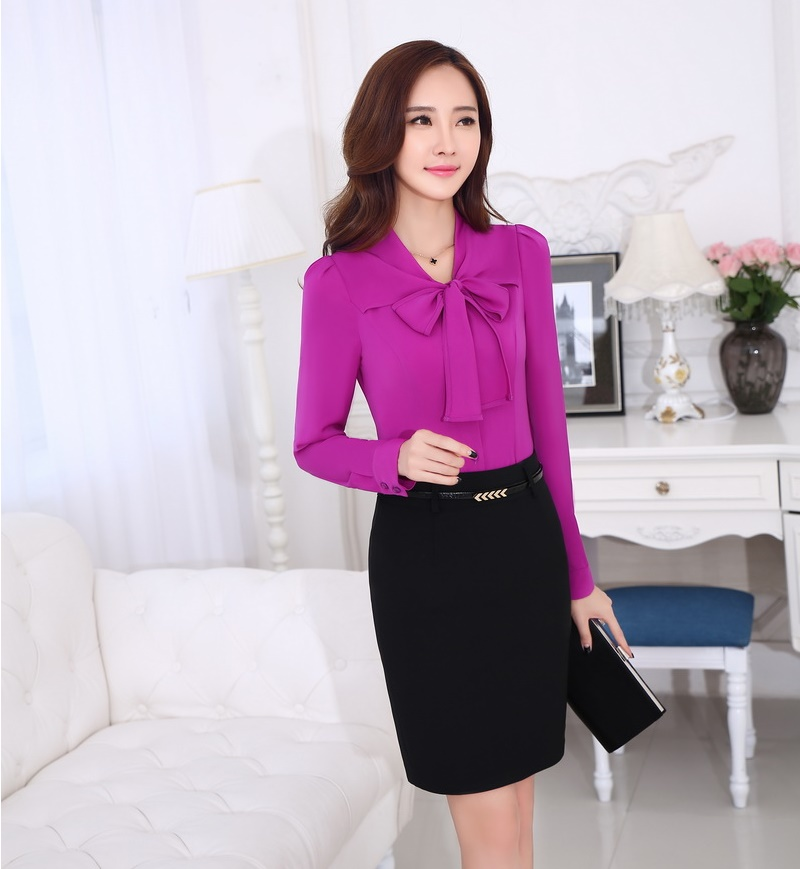 Aliexpress.com : Buy Formal Women Work Wear Suits with Skirt and ...