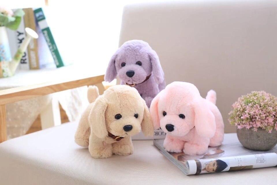 kawaii plush mini stuffed animals Teddy bear dog dolls soft toy pet 20cm pink baby toys for children peluche gift toys for girls stuffed toy