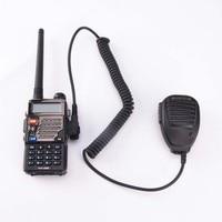 עבור baofeng קידום 5pcs נייד רמקול רדיו מיקרופון PTT Baofeng מיקרופון עבור VHF UHF Dual Band נייד רדיו UV5R UV3R BF-888S GT-3 חלקים (4)