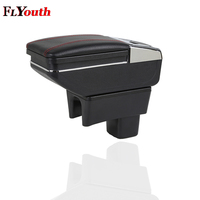 For Suzuki Swift 2005 2018 Car Armrest Box Central Store Content Box Cup Holder Ashtray Products Car Styling Accessories Part