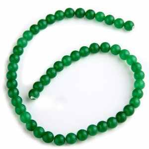 6mm/8mm Green Beads Natural Stone Beads For Necklaces Round Loose BeadsFor Bracelet Craft