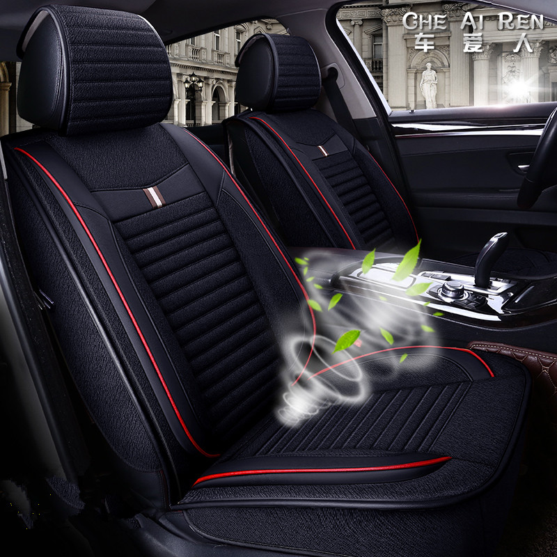 Bmw X6 Seat Covers: 5 Seats( Front+Rear) Car Seat Covers For Audi Toyota Honda