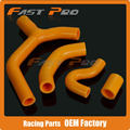 Silicone Radiator Coolant Hose For KTM EXC-R EXC XCW 450 2007-2010 Enduro Dirt Bike Racing Offroad Motorcycle Motocross