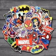 Marvel & DC random mixed Stickers 50pcs/lot