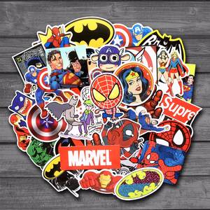 sleeping momo 50 Pcs/Lot Stickers For MARVEL Laptop
