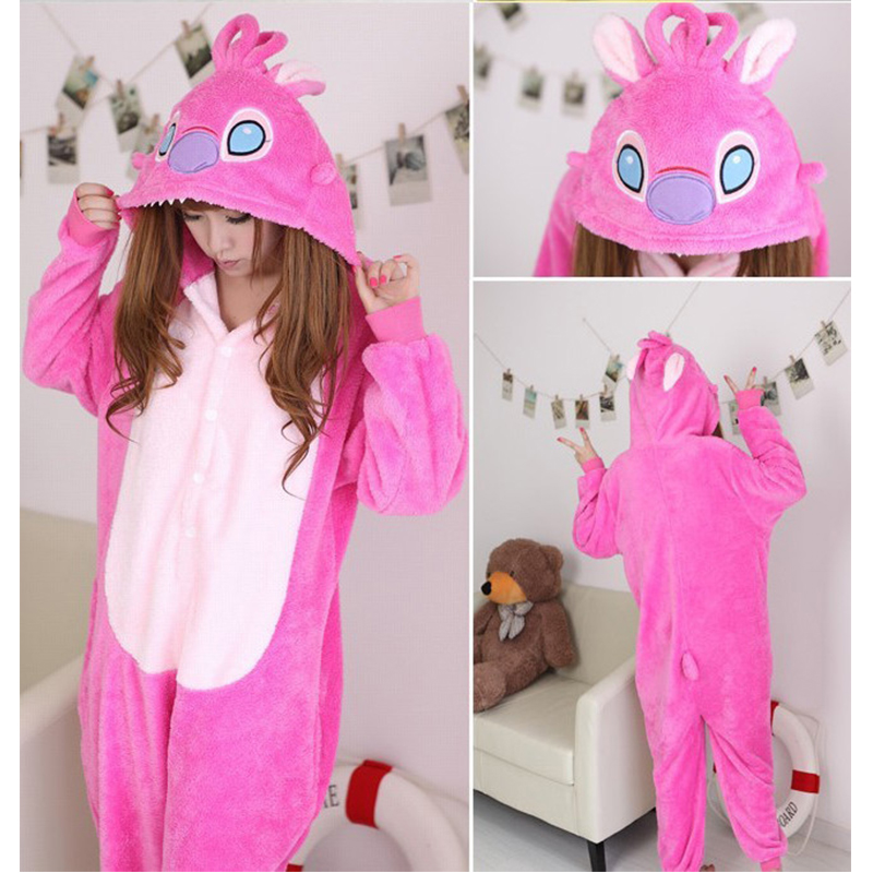 2017 Women Men Cosplay Horse Pajamas sets Men Flannel Animal Pajamas Kits For Sleepwear Winter Night-Suit Set Pajamas