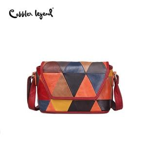 Image 3 - Cobbler Legend 여성을위한 정품 가죽 핸드백 2020 Luxury Multicolor Ladies 빈티지 가방 디자이너 숄더/크로스 바디 호보 백