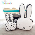 Novelty Rabbit Plush Toy Cushion Kawaii Animal Bunny Baby Pillow Bed Room Decor Kids Soft Doll